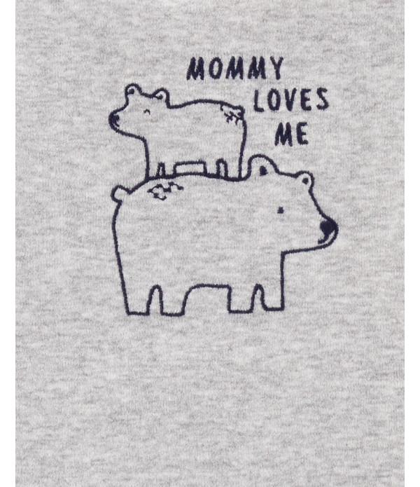 Conjunto Carter's 3 Peças Masculino Urso Polar